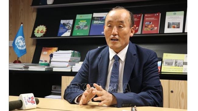 Dr. Kidong Park, Representative of the World Health Organisation in Vietnam. (Photo: VNA)