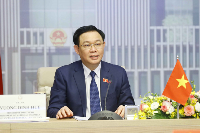 Chairman Vuong Dinh Hue of the Vietnam National Assembly
