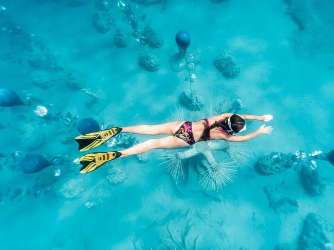 Độc đáo triển lãm nghệ thuật dưới nước tại đảo Cyprus - ảnh 8