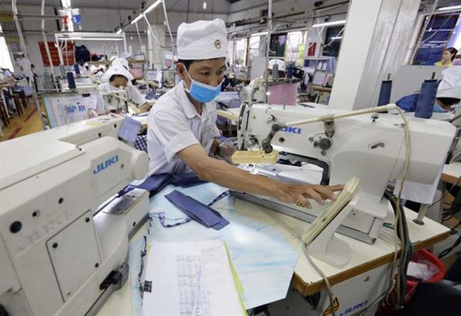 At the Protrade Garment JSC (Source: VNA)