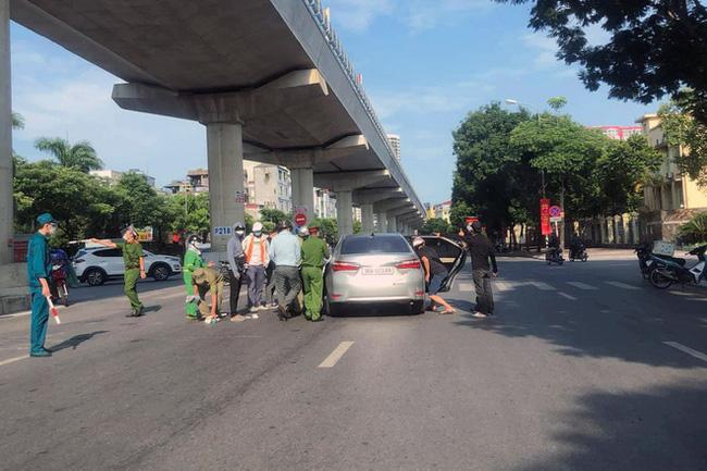 Nam thanh niên thông chốt, tông gục CSGT - ảnh 2