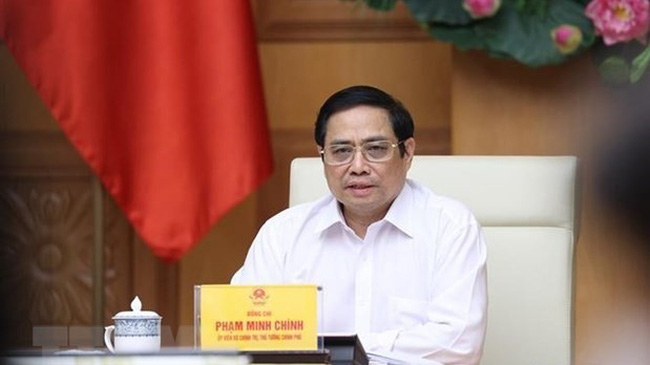 Prime Minister Pham Minh Chinh becomes head of national steering committee for COVID-19 prevention (Photo:VNA)