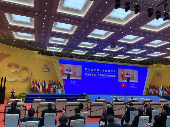 Phó Thủ tướng Lê Văn Thành dự khai mạc CAEXPO 18 tại Trung Quốc - ảnh 2
