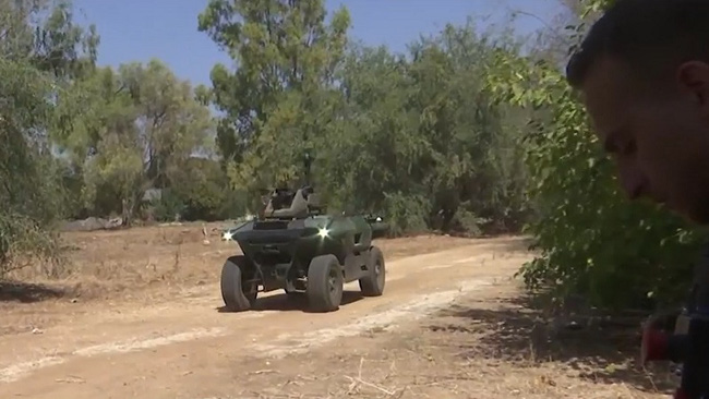 Quân đội Israel trình làng robot chiến đấu sử dụng công nghệ AI - ảnh 2