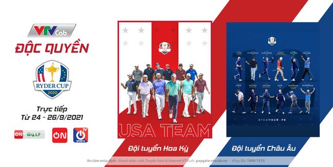 VTVcab độc quyền phát sóng Ryder Cup 2020 - ảnh 2