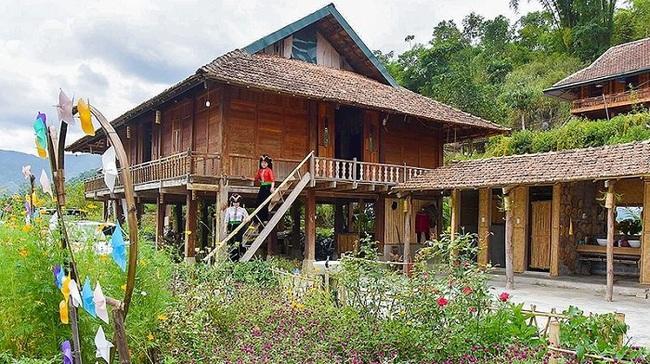 A homestay in Che Can Village, Muong Phang Commune, Dien Bien Phu City, Dien Bien Province. (Photo: Minh Ha)