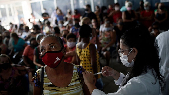 Lào có số ca mắc COVID-19 cộng đồng  tăng vọt, Ấn Độ lập kỷ lục tiêm hơn 20 triệu mũi vaccine/ngày - ảnh 3