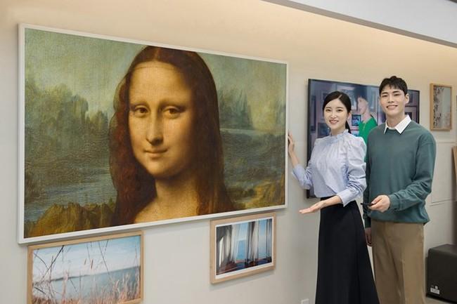 Thưởng thức các tác phẩm nghệ thuật từ bảo tàng Louvre trên TV The Frame của Samsung - ảnh 3