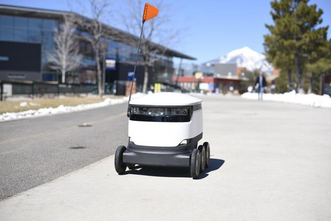 Robot giao hàng tự động tại Anh - ảnh 2