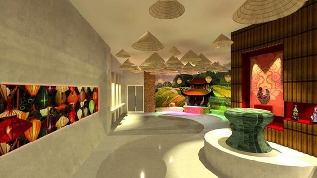 Vietnam Exhibition House will be inaugurated at Expo 2020 Dubai on October 1. (Photo: expo2020dubai.com)