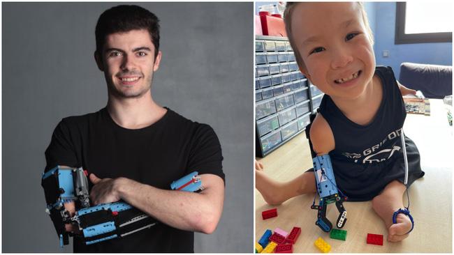 Chàng trai chế tạo cánh tay giả từ Lego cho bé 8 tuổi - ảnh 4