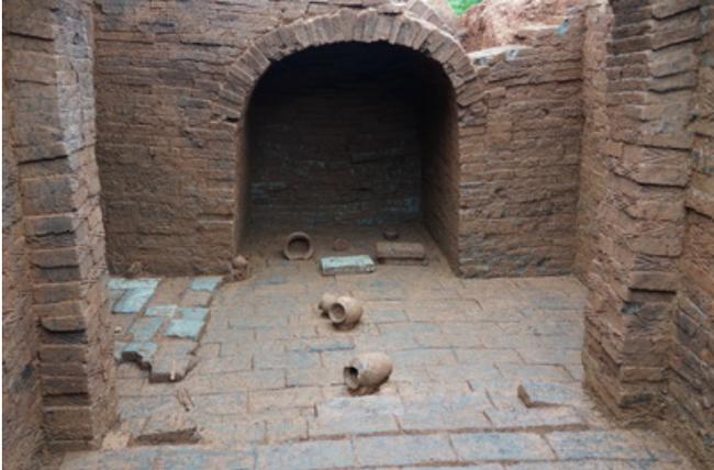 Phát hiện hơn 30 di tích văn hóa trong các ngôi mộ cổ ở miền Trung của Trung Quốc - ảnh 2