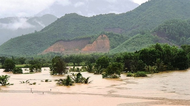 National Centre for Hydro-Meteorological Forecasting predicts rivers in the central region could break their banks in September. (Photo: NDO)