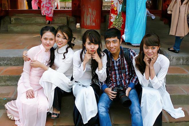 Loạt ảnh bất ngờ thời xưa của Bảo Thanh, Lương Thu Trang và Phương Oanh - ảnh 8