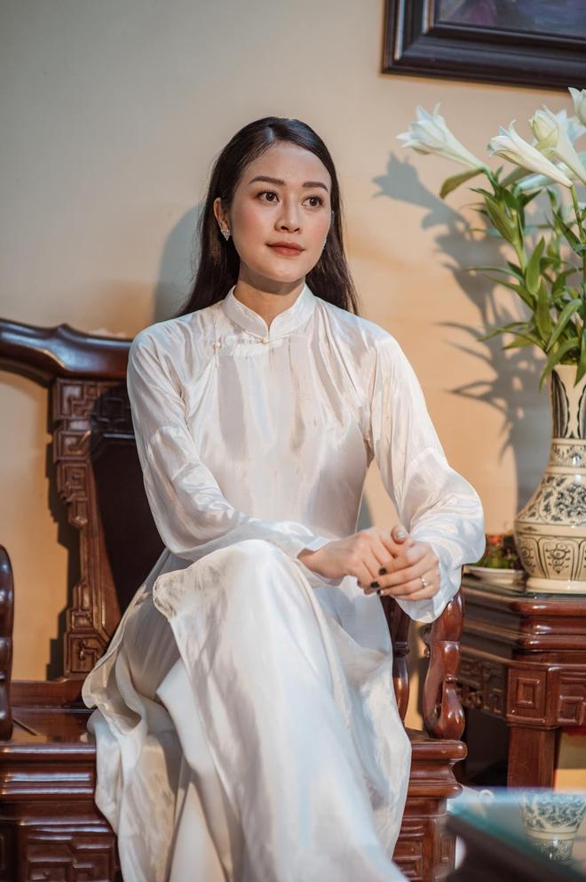 Nữ MC, BTV đẹp dịu dàng trong Lễ ăn hỏi - ảnh 22