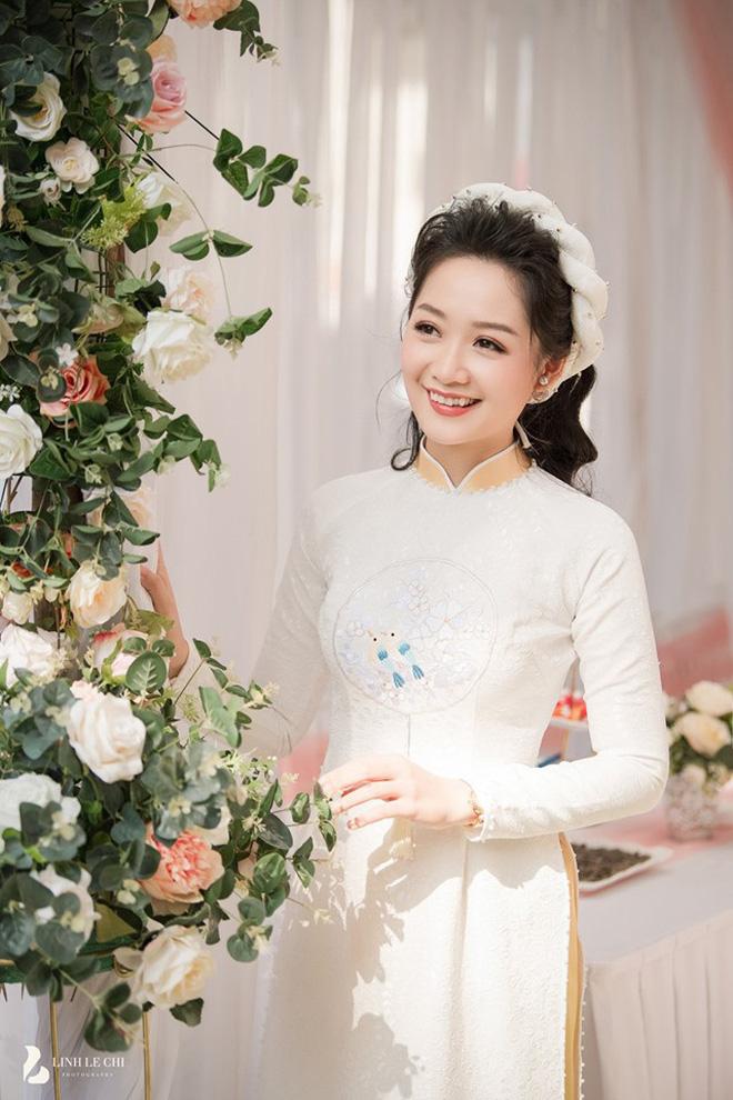 Nữ MC, BTV đẹp dịu dàng trong Lễ ăn hỏi - ảnh 14