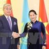NA chairwoman concludes Kazakhstan visit