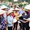 Assistance for storm-affected locals in Phu Xuyen