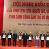 Hanoi honors outstanding citizens of 2017