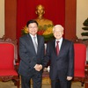 Vietnam, Lao upbeat about growing ties