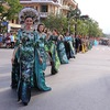 Parade of 1,000 dancers kicks off Dong Hoi tourism festival