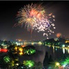 Firework shows to light up Hanoi skies during Tet