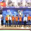 After breathtaking victory over China, Vietnam 2 team won ABU Robocon 2018 championship