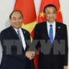 PM meets Chinese counterparts in Phnom Penh