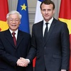 Party chief sends cable of gratitude to French President