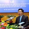 Vietnam peace-keeping department makes debut