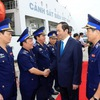 State President pays pre-Tet visit to coast guard zone 3