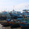 Binh Thuan Province banned all vessels from sailing