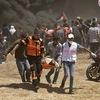 55 Palestinian protesters killed as U.S. opens Jerusalem embassy