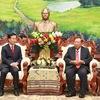 Vietnam, Laos ties strengthened