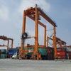 40,000 ton cargo ship visit SP-ITC bay in Ho Chi Minh City