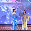Ao Dai collection of young Tay ethnic designer introduced at brocade festival