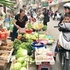 Food prices edge up after Tet due to low supply