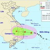 New storm heads towards Quang Ngai - Khanh Hoa coast