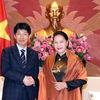Top legislator greets Japan's Gunma prefecture delegation