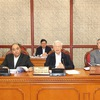 General Secretary, State President chairs politburo meeting