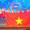 Vietnamese students enjoy big win at international math competition