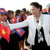 NA Chairwoman arrives in Siem Reap for APPF-27