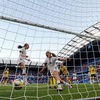 Perfect US beat Sweden 2-0 to top Group F