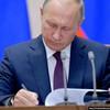 Putin signs bill to suspend INF participation