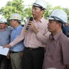 Ministry of transport inspects transport projects in Hanoi