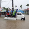 Armed forces help Phu Quoc people recover after flood