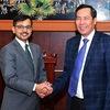Nhan Dan Newspaper's editor-in-chief welcomes visiting Indian ambassador