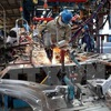 Eight-month industrial production up 9.5 percent