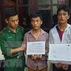 Dien Bien: Two men caught carrying 20,000 meth pills