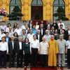 Top leader hails front's role in strengthening solidarity